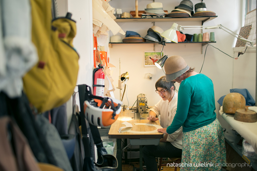 Sheri's sewing station